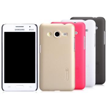 Премиум пластиковый матовый чехол для Samsung Galaxy Core 2