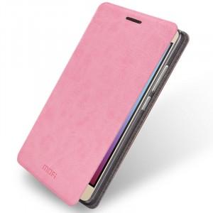 Чехол флип подставка водоотталкивающий для Huawei Honor 5X Розовый