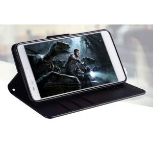 Чехол портмоне подставка на силиконовой основе с защелкой для Huawei Honor 5X