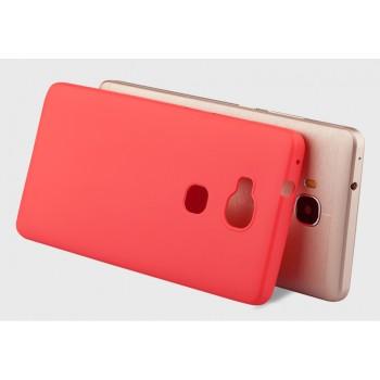 Силиконовый матовый непрозрачный нанотонкий 0.6 мм чехол для Huawei Honor 5X
