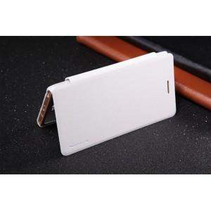 Чехол флип на пластиковой матовой нескользящей основе для LG Class Белый