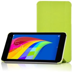 Чехол флип подставка сегментарный для Huawei MediaPad T1 7.0/T2 7.0 Зеленый