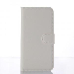 Чехол портмоне подставка с защелкой для ZTE Blade X7/Z7 Белый