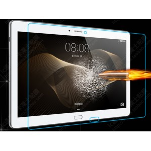 Ультратонкое износоустойчивое сколостойкое олеофобное защитное стекло-пленка для Huawei MediaPad M2 10