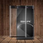 Ультратонкая износоустойчивая сколостойкая олеофобная защитная объемная стеклянная панель на плоскую и изогнутые поверхности экрана для Blackberry Priv