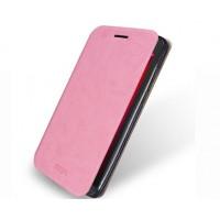 Чехол флип подставка водоотталкивающий для ASUS Zenfone Go Розовый