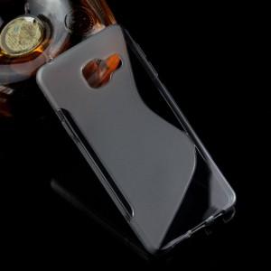 Силиконовый S чехол для Samsung Galaxy A3 (2016) Серый