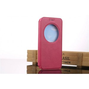 Чехол флип подставка на силиконовой основе с окном вызова для ASUS Zenfone Go