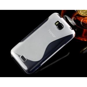 Силиконовый S чехол для Huawei Y5c Белый