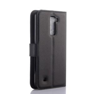 Чехол портмоне подставка с защелкой для LG K10