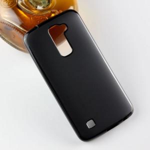 Силиконовый матовый непрозрачный чехол для LG K10