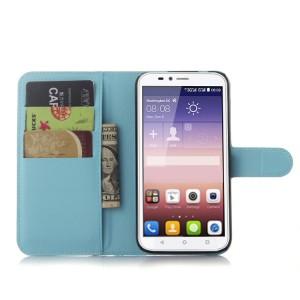 Чехол портмоне подставка с защелкой для Huawei Y625