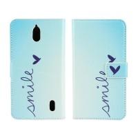 Дизайнерский чехол портмоне подставка с полноповерхностным принтом и застежкой для Huawei Y625
