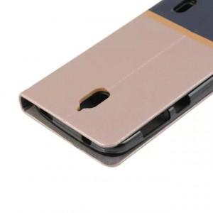 Дизайнерский чехол флип подставка на силиконовой основе с отделением для карты для Huawei Y625