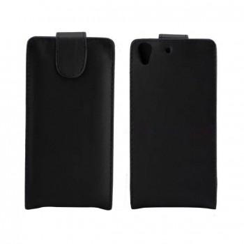 Чехол вертикальная книжка на пластиковой основе с магнитной застежкой для Huawei Y6