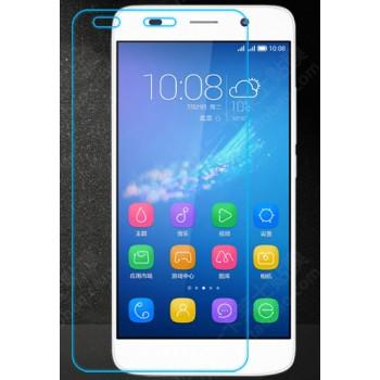 Ультратонкое износоустойчивое сколостойкое олеофобное защитное стекло-пленка для Huawei Y6