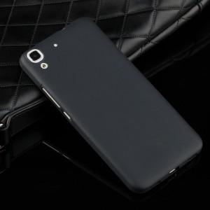 Силиконовый матовый непрозрачный чехол для Huawei Y6