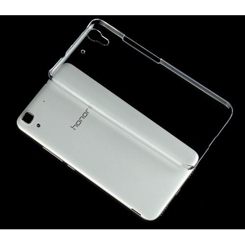 Пластиковый транспарентный чехол для Huawei Y6