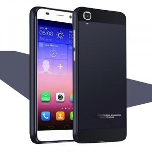 Двухкомпонентный чехол с металлическим бампером и двухцветной поликарбонатной накладкой для Huawei Y6 Черный