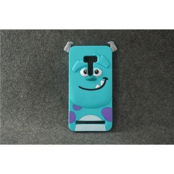 Силиконовый дизайнерский фигурный чехол для ASUS Zenfone Selfie