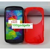 Силиконовый чехол S для Samsung Galaxy K Zoom Красный