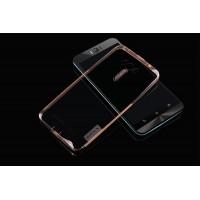 Силиконовый матовый полупрозрачный чехол повышенной прочности для ASUS Zenfone Selfie Бежевый