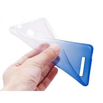 Силиконовый градиентный чехол для Xiaomi RedMi Note 3 Синий