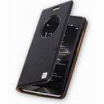 Кожаный чехол флип-подставка с окном вызова для ASUS Zenfone 6