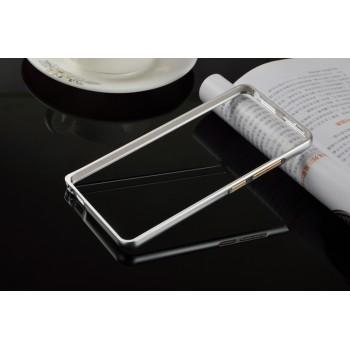 Металлический бампер для Xiaomi RedMi Note 3 Белый