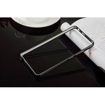 Металлический бампер для Xiaomi RedMi Note 3 Черный