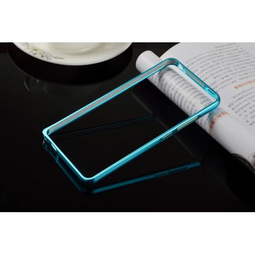 Металлический бампер для Xiaomi RedMi Note 3 Пурпурный