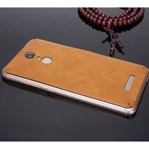 Клеевая кожаная накладка для Xiaomi RedMi Note 3