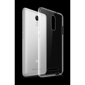 Силиконовый транспарентный чехол для Xiaomi RedMi Note 3
