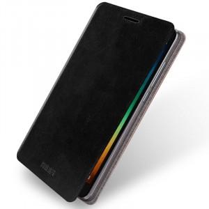Водоотталкивающий чехол флип подставка на силиконовой основе для Xiaomi RedMi Note 3
