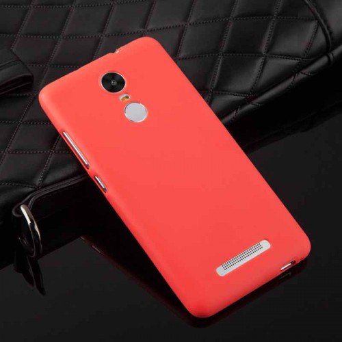 Силиконовый матовый непрозрачный чехол для Xiaomi RedMi Note 3