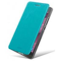 Водоотталкивающий чехол флип для ASUS Zenfone 6 Голубой