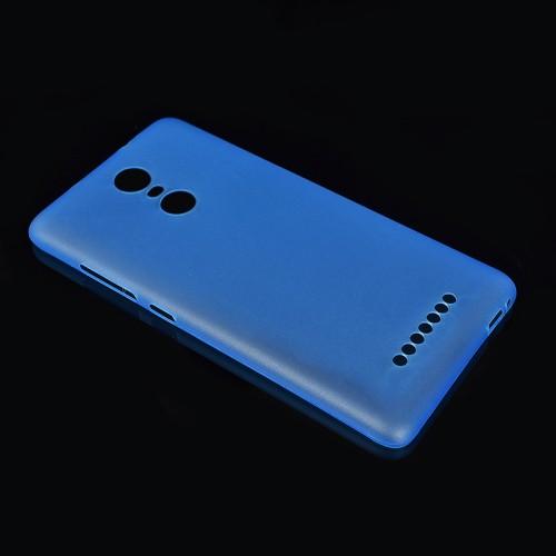 Пластиковый матовый полупрозрачный чехол для Xiaomi RedMi Note 3
