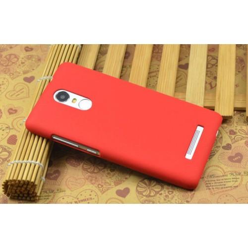 Пластиковый матовый чехол с повышенной шероховатостью для Xiaomi RedMi Note 3