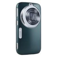 Пластиковый чехол серия Metallic Layer для Samsung Galaxy K Zoom Голубой