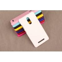 Пластиковый матовый непрозрачный чехол для Xiaomi RedMi Note 3 Белый