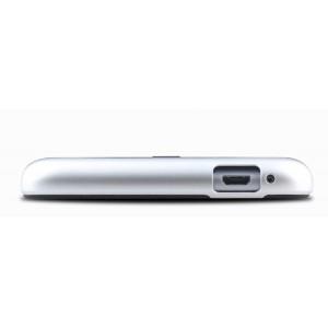 Гибридный чехол накладка силикон/поликарбонат для Xiaomi RedMi Note 3 Белый