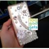 Дизайнерский пластиковый чехол с аппликацией стразами и бижутерией ручной работы для Xiaomi RedMi Note 3