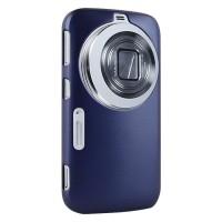 Пластиковый чехол серия Metallic Layer для Samsung Galaxy K Zoom Синий