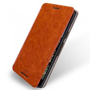 Водоотталкивающий чехол флип подставка для Google LG Nexus 5X Коричневый