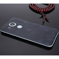 Клеевая кожаная накладка для Google LG Nexus 5X