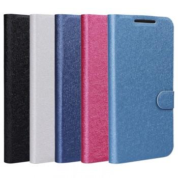 Текстурный чехол флип подставка на силиконовой основе с отделением для карт для Google LG Nexus 5X