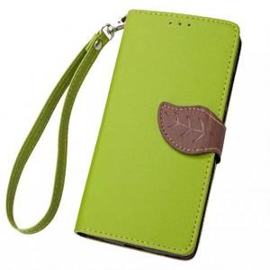 Текстурный чехол флип подставка портмоне на силиконовой основе с дизайнерской застежкой для Google LG Nexus 5X Зеленый