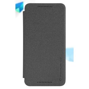 Чехол флип на пластиковой матовой нескользящей основе для Google LG Nexus 5X Черный