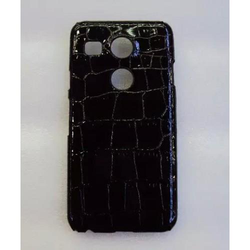Пластиковый матовый текстурный чехол дизайн Природа для Google LG Nexus 5X