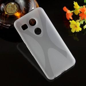 Силиконовый X чехол для Google LG Nexus 5X Белый